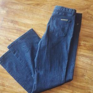 Michael Kors dark wash jean